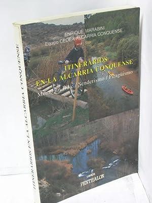 Imagen del vendedor de ITINERARIOS EN LA ALCARRIA CONQUENSE. Mountain Bike / Senderismo / Piragüismo a la venta por LIBRERIA  SANZ