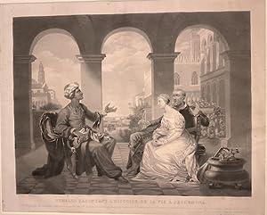 OTHELLO RACONTANT L'HISTOIRE DE SA VIE Á: Jazet. Jean Pierre-Marie,