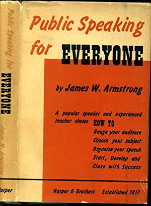 PUBLIC SPEAKING FOR EVERYONE. A Practical Handbook