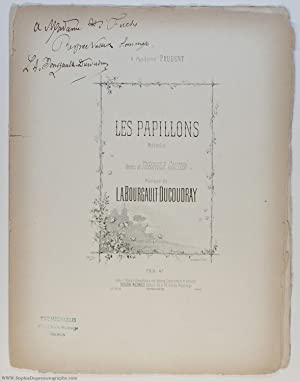 Light hearted song 'Les Papillons' ('The Butterflies'), (Louis Albert, 1840-1910, Breton Composer...