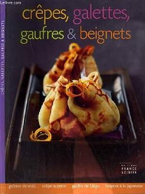 Couverture de Crêpes, galettes, gaufres et beignets