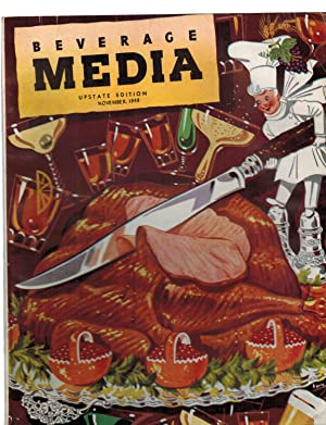 BEVERAGE MEDIA. (Alcohol Trade Magazine). Issue for November 1948
