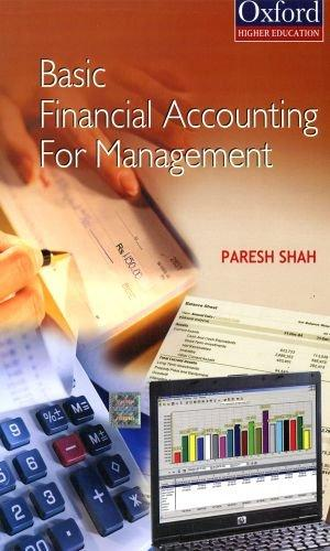 Financial Accounting for Management: Shah, Paresh