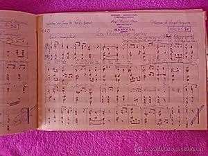 3 PARTITURAS ORIGINALS SARDANAS ANYS 1940-50: Angel Noguera Alegre