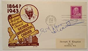 Inscribed First Day Cover