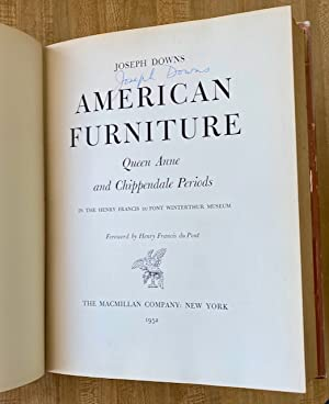 American Furniture: Queen Anne and Chippendale Periods: in the Henry Francis du Pont Winterthur ...