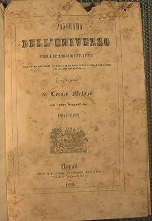 Panorama dell'Universo - L'Italia + Storia della: Malpica Cesare