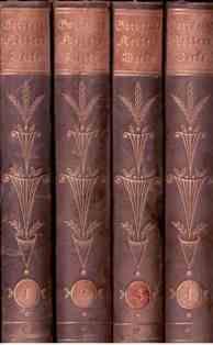 Gesammelte Werke in vier Bänden.: Keller, Gottfried, E. R. Weiß (Einband) und Ricarda Huch (...
