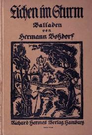 Eichen im Sturm. Balladen. >>> recht selten <<<: Boßdorf, Hermann und Bernhard ...