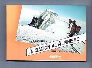 Imagen del vendedor de INICIACION AL ALPINISMO a la venta por Libreria 7 Soles