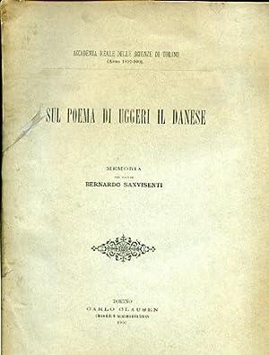 Sul poema di Uggeri il Danese. Memoria: Sanvisenti Bernardo