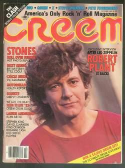CREEM - Magazine (Volume 14 #5; October/: KING, STEPHEN. -