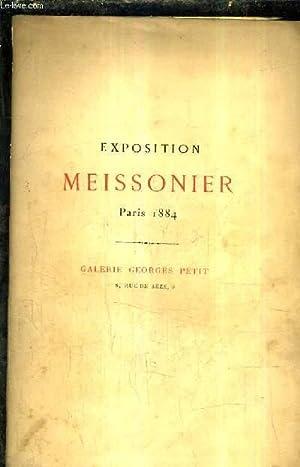 EXPOSITION MEISSONIER 24 MAI 24 JUILLET 1884: COLLECTIF