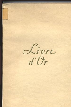 Livre d'Or. Du parc et du domaine des Rives de Prangins. Exemplaire Numero 275 (275/500).: n. A...