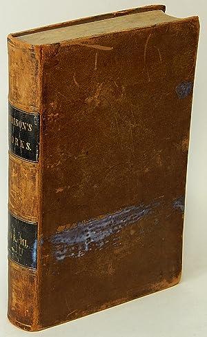 The Works of Joseph Addison. Complete in Three Volumes. (VOLUME III ONLY): ADDISON, Joseph