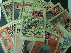 Red Letter Magazine: 17 Issues (1951 x 9, 1954 x 2, 1955 x 3, 1956 x , 1962 x 1 & 1963 x 1 ): n...