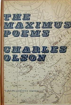 Immagine del venditore per The Maximus Poems venduto da Derringer Books, Member ABAA