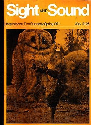 Sight & Sound magazine. Spring 1971. International Film Quarterly.