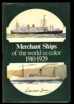 MERCHANT SHIPS OF THE WORLD 1910-1929 IN COLOR.