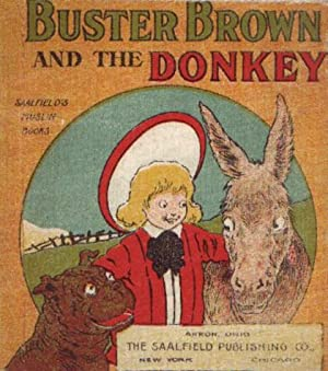 BUSTER BROWN AND THE DONKEY: Outcault, R. F.