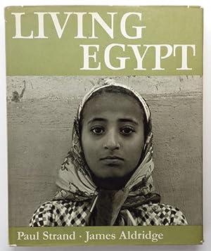 Living Egypt by J.Aldridge;: ALDRIDGE, James illustrated
