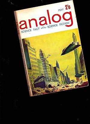 ANALOG. SCIENCE FACT FICTION. MAY 1962. BRITISH EDITION: John W. Campbell: Editor