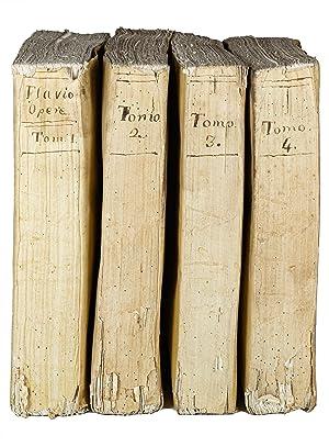 Delle opere di Giuseppe Flavio dall original testo greco nuovamente tradotte in lingua italiana e ...
