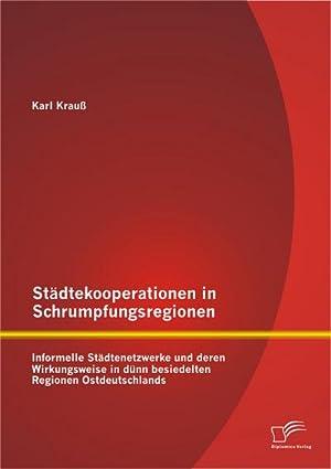 Städtekooperationen in Schrumpfungsregionen: Informelle Städtenetzwerke und deren Wirkungsweise in ...