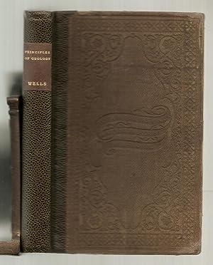 WELLS'S FIRST PRINCIPLES OF GEOLOGY. A Text-Book: Wells, David A.