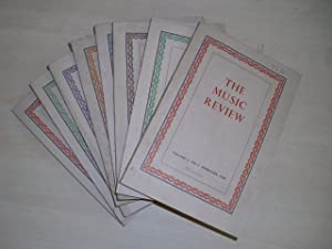 The Music Review. Volume I + II (in 8 books).: Sharp, Geoffrey (ua.):