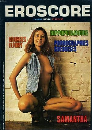 EROSCORE, le premier magazine du film érotique N° 18 - HIPPOPOTAMOURS - GEORGES FLEURY - ...