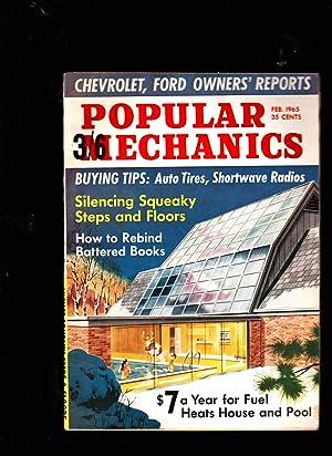 POPULAR MECHANICS Magazine. February 1965