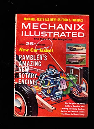 Mechanix Illustrated: The How-To-Do Magazine. October 1964