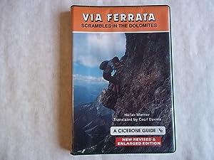 Via Ferrata Scrambles in the Dolomites: Hoffler; Werner