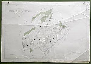 Commune de Fiaugères. Plan d'ensemble. Levé par L. Genoud. Carte topographique 5:000. Format ...