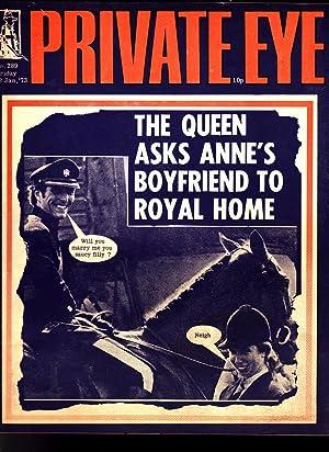 Private Eye. Magazine. No. 289. Friday 12: Edited by Richard