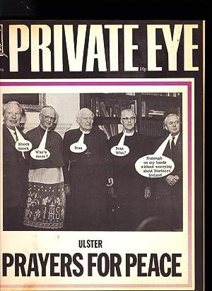 Private Eye. No. 269. Friday 7 APRIL 1972: Richard Ingrams: Editor