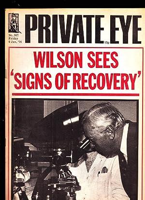 Private Eye Magazine. No. 367. Friday 9: Edited by Richard