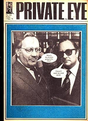 Private Eye. Magazine. No. 436. Friday 1: Edited by Richard