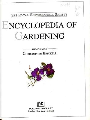 The Royal Horticultural Society Encyclopedia of Gardening: Brickell, Christopher (editor)