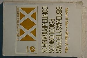 Sistemas y Teorias psicologicos Contemnporáneos: Melvin H. Marx