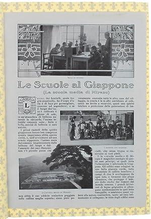 Immagine del venditore per LE SCUOLE AL GIAPPONE. La scuola media di Miyazu.: venduto da Bergoglio Libri d'Epoca