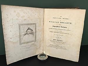 The Genuine Works of William Hogarth; with: Nichols, John &