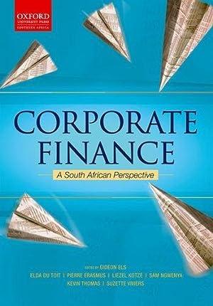 Financial Management: Els, Gideon; Erasmus,