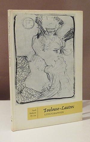 Lithographien. 38 Bildtafeln. Geleitwort von Gotthard Jedlicka.: Insel-Bücher - Toulouse-Lautrec,