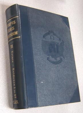 Corpus Juris Secundum: A Complete Restatement Of: Ludes, Francis J.