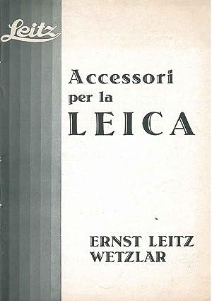 Accessori per la Leica: Leitz