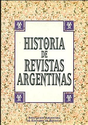 HISTORIA DE REVISTAS ARGENTINAS: REVISTAS,