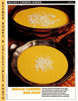 McCall's Cooking School Recipe Card: Soups 21 - Senegalese Soup (Replacement McCall's Recipage or...