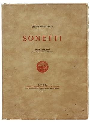 Immagine del venditore per SONETTI.: venduto da Bergoglio Libri d'Epoca